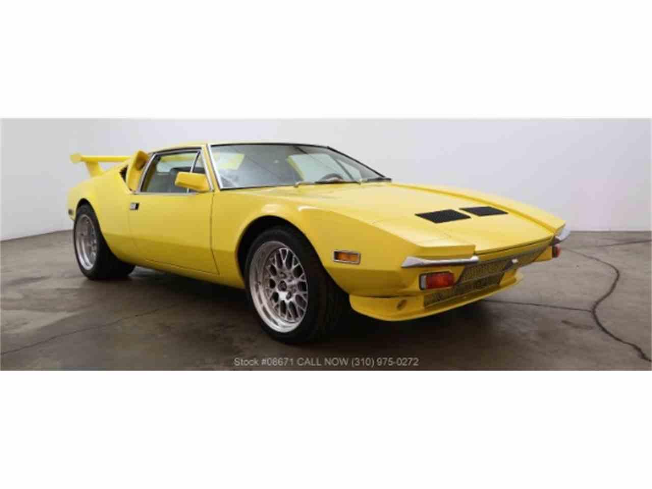 1972 De Tomaso Pantera for Sale - CC-1018375