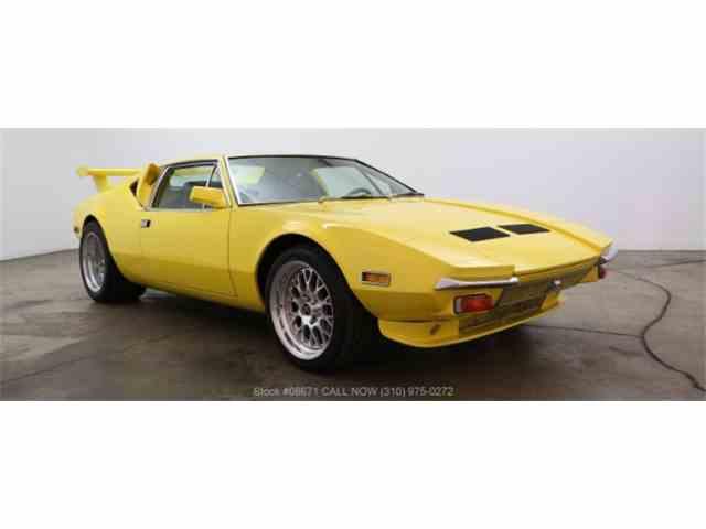 1972 De Tomaso Pantera | 1018375