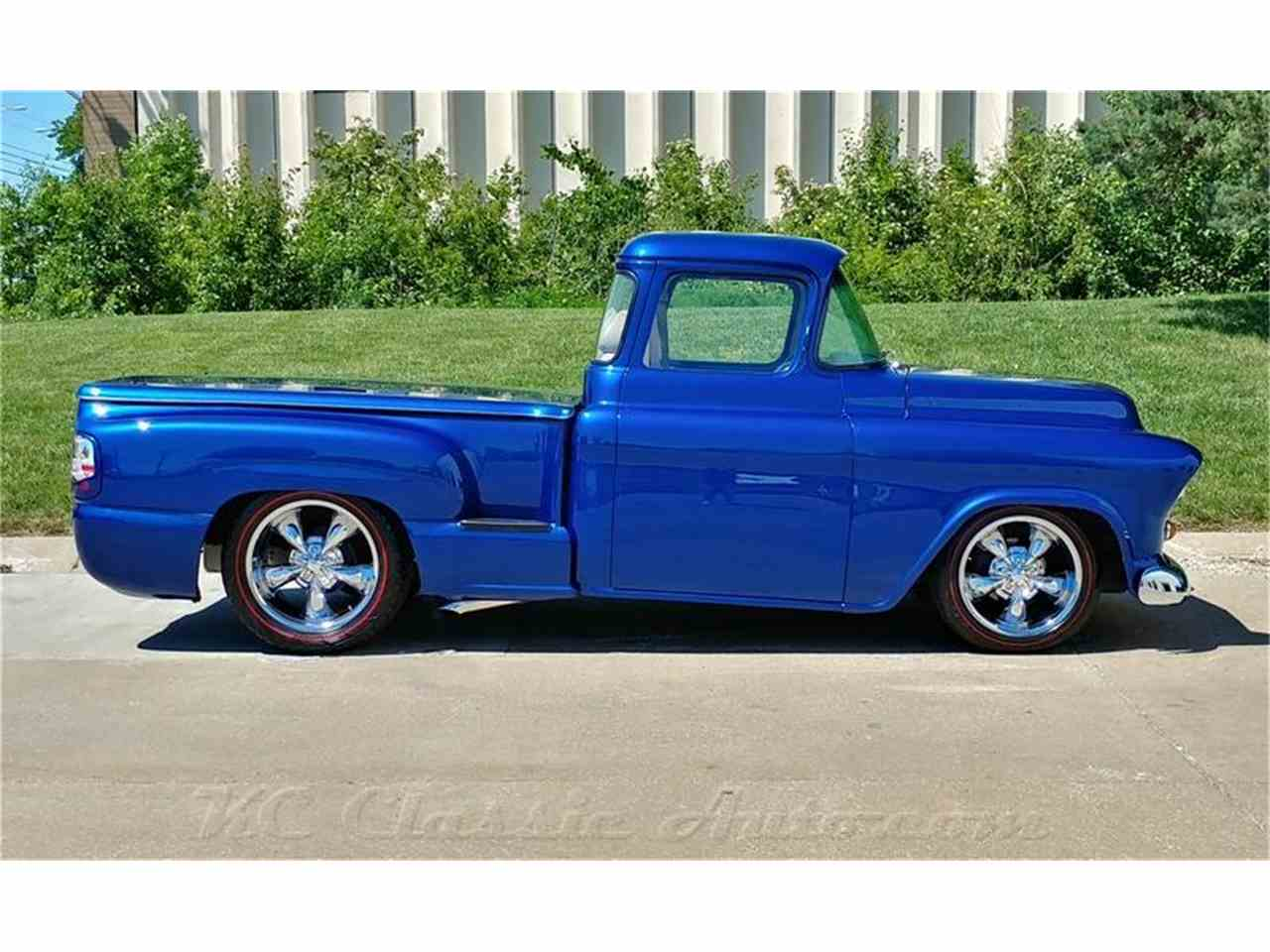 1955 chevrolet 3100 for sale cc 1018438. Black Bedroom Furniture Sets. Home Design Ideas