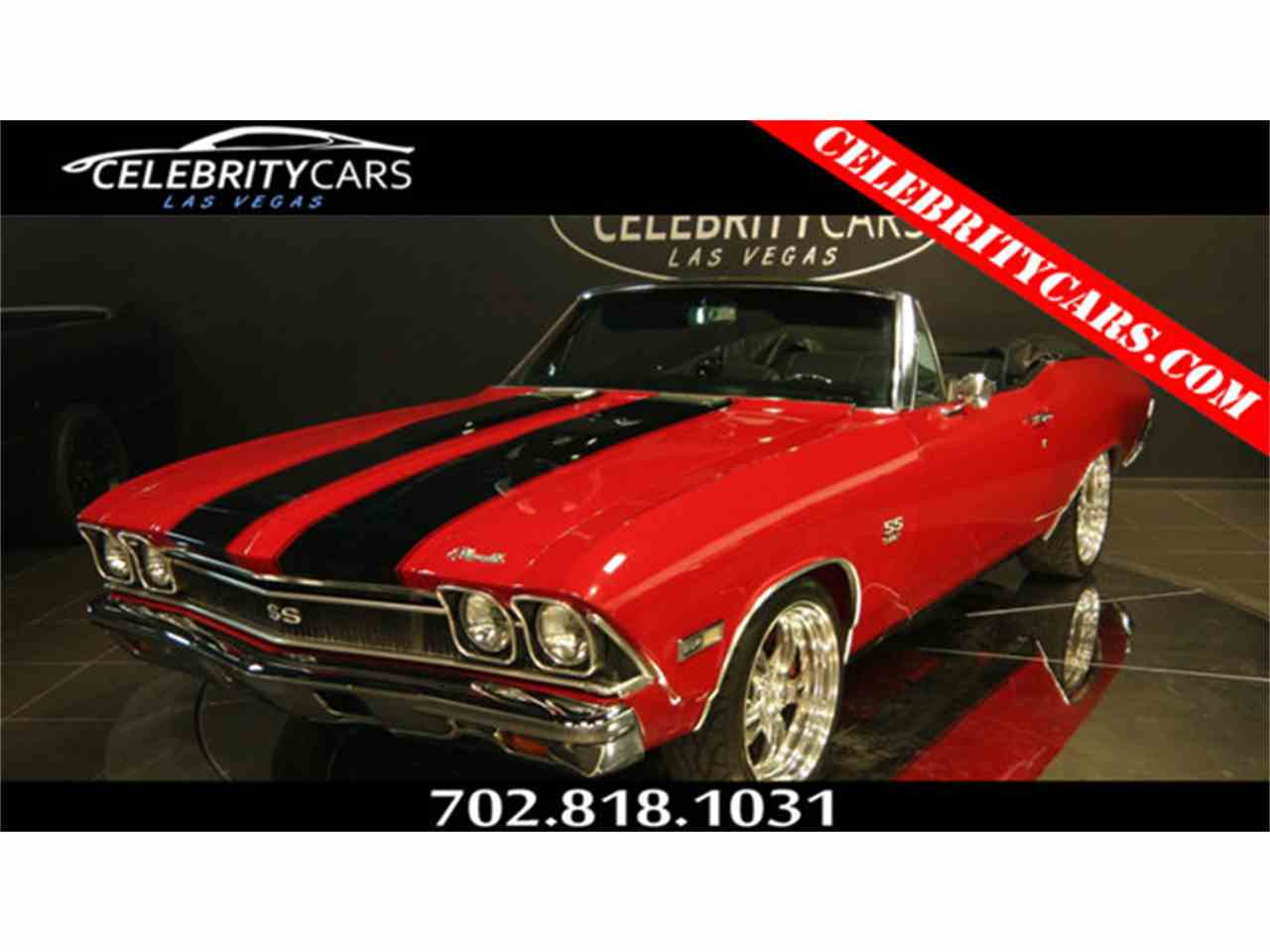 Large Picture of Classic '68 Chevrolet Chevelle SS located in Nevada Offered by Celebrity Cars Las Vegas - LTU7