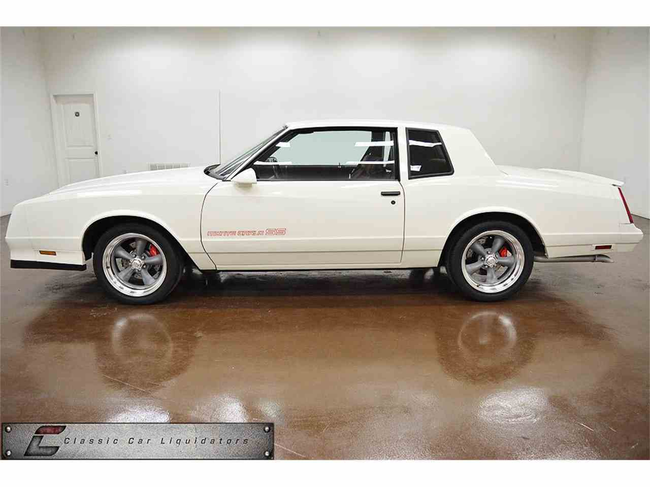 All Chevy 1988 chevrolet monte carlo ss for sale : 1988 Chevrolet Monte Carlo SS for Sale | ClassicCars.com | CC-1018471