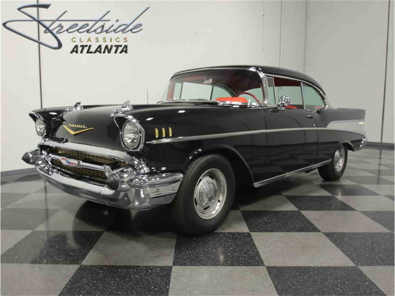 Large Picture of '57 Chevrolet Bel Air located in Lithia Springs Georgia - $49,995.00 Offered by Streetside Classics - Atlanta - LTY9
