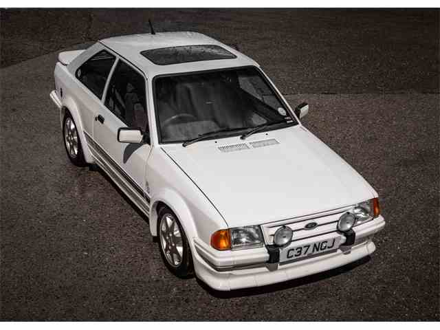 1986 Ford Escort RS Turbo Series I   1018715