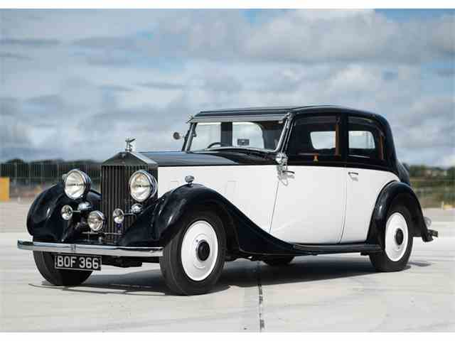 1935 Rolls-Royce 20/25 Sports Saloon by James Young | 1018764