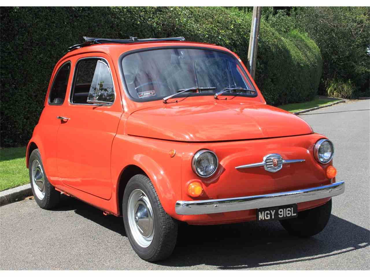 1972 fiat 500 for sale cc 1018771. Black Bedroom Furniture Sets. Home Design Ideas