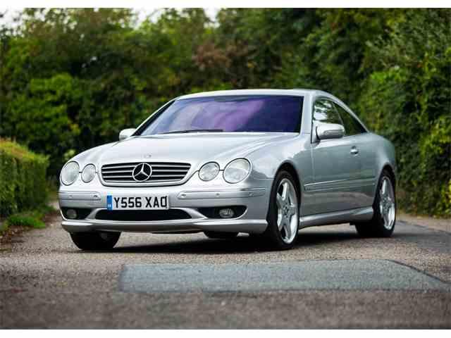 2001 Mercedes-Benz CL600 | 1018775