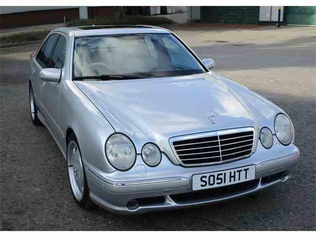 2002 Mercedes-Benz E55 | 1018806
