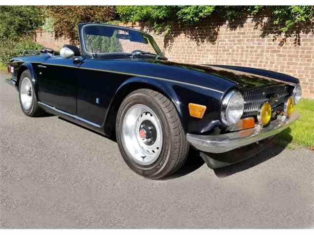 1971 Triumph TR6   1018824
