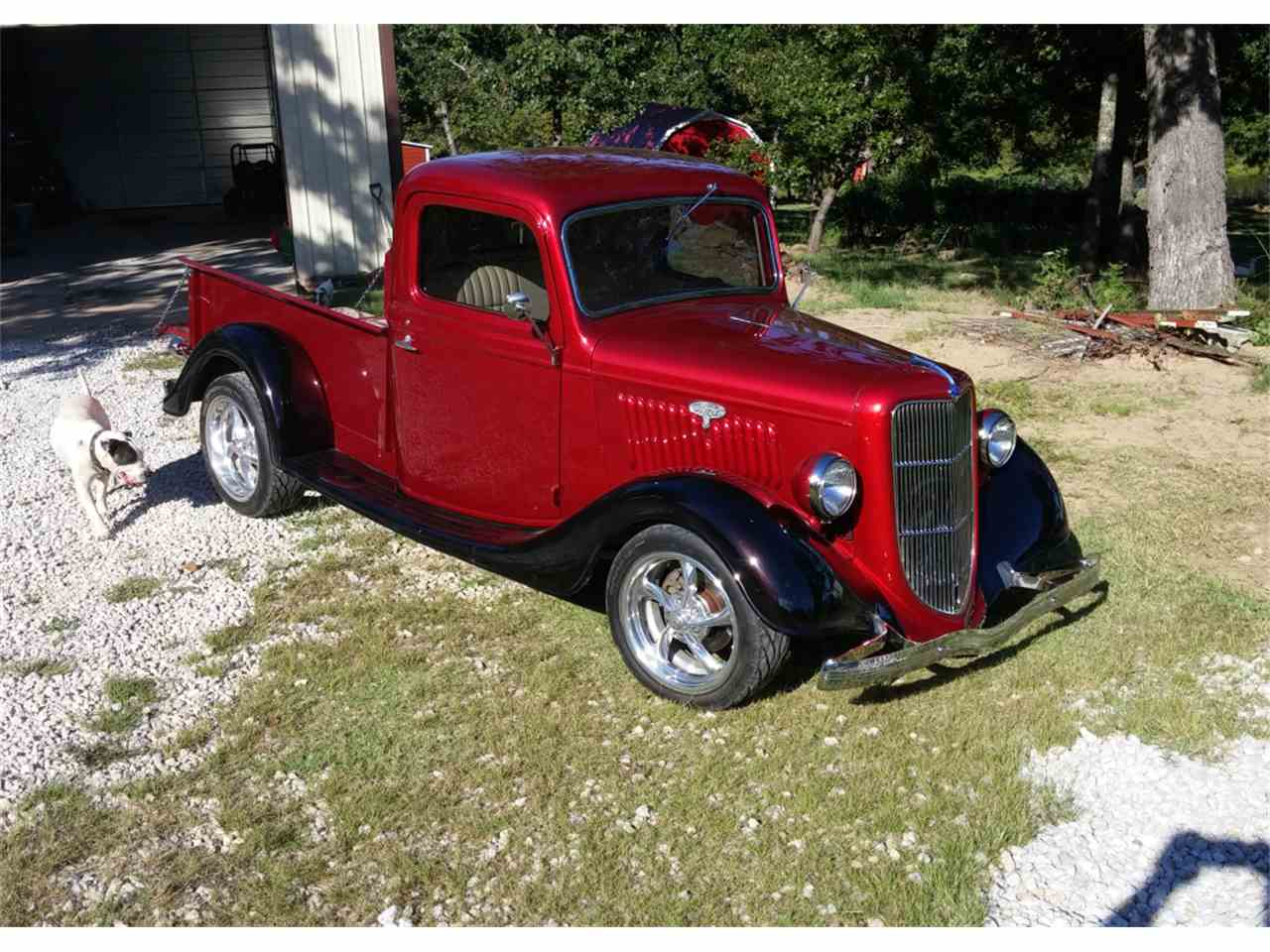 1935 ford pickup for sale cc 1018831. Black Bedroom Furniture Sets. Home Design Ideas