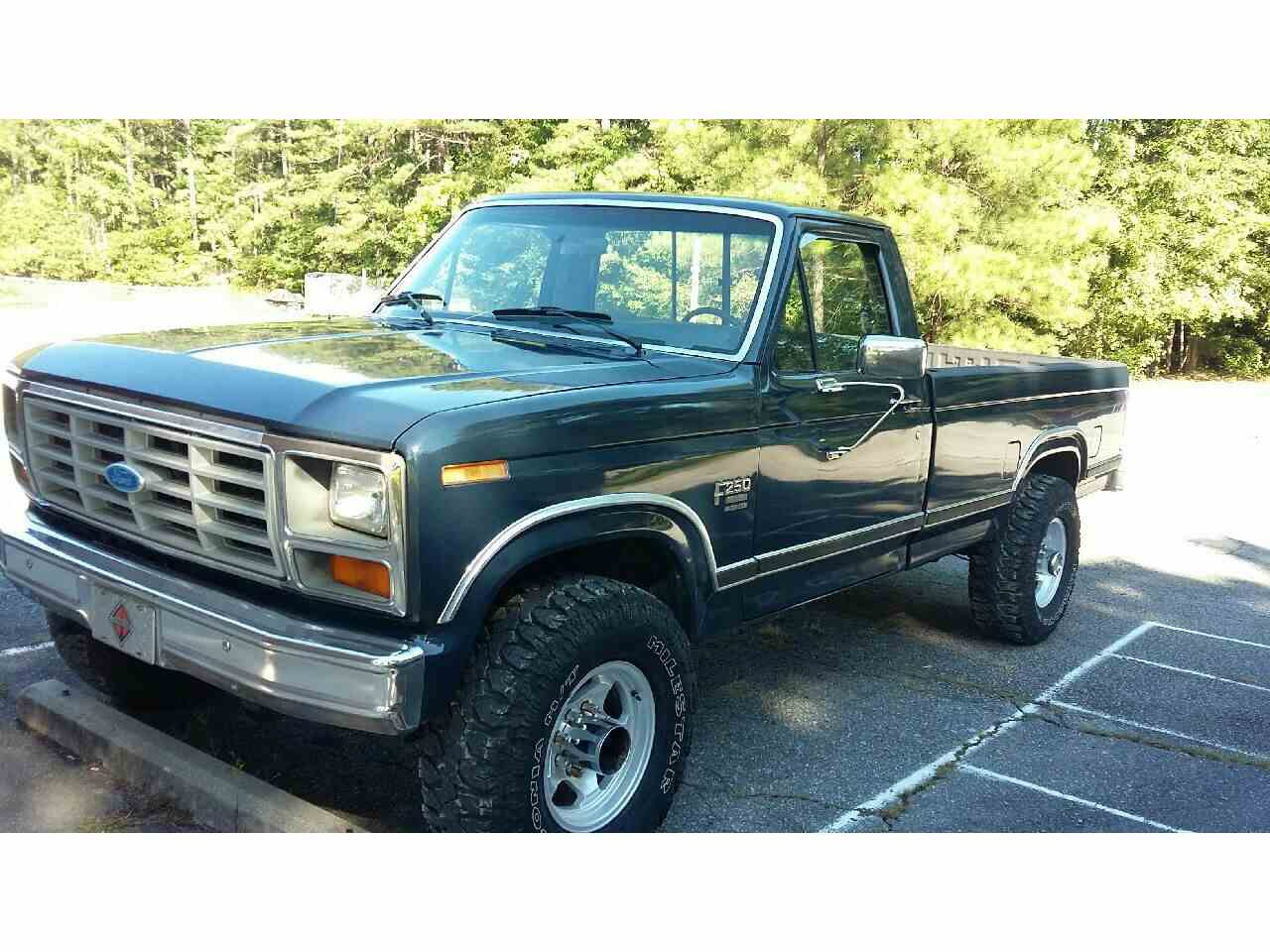 Large Picture of '86 F250 - LU73