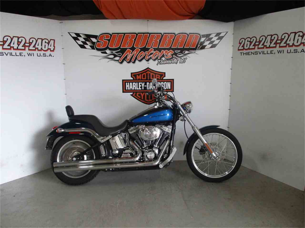 Large Picture of 2004 Harley-Davidson® FXSTDI located in Thiensville Wisconsin - $6,488.00 Offered by Suburban Motors, Inc. - LUA3