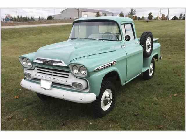 1959 Chevrolet Apache Napco Powr-Pak | 1019200