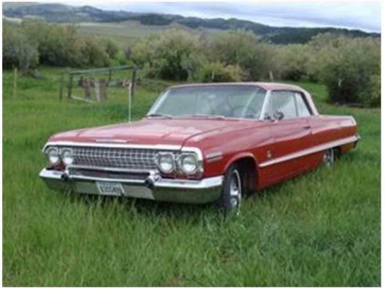 1963 chevrolet impala ss for sale cc 1019212. Black Bedroom Furniture Sets. Home Design Ideas