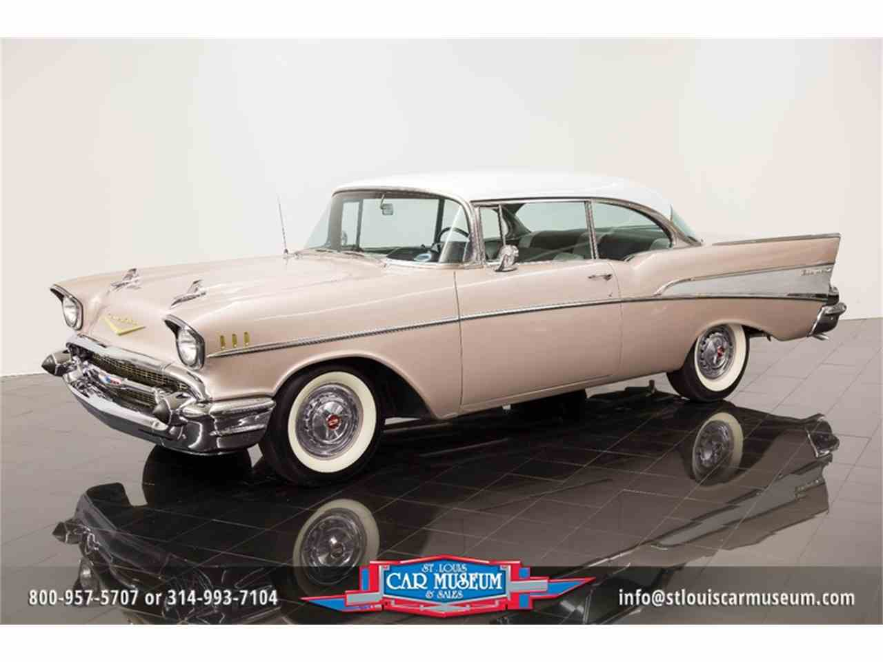 Large Picture of Classic 1957 Chevrolet Bel Air located in Missouri Offered by St. Louis Car Museum - LUJG
