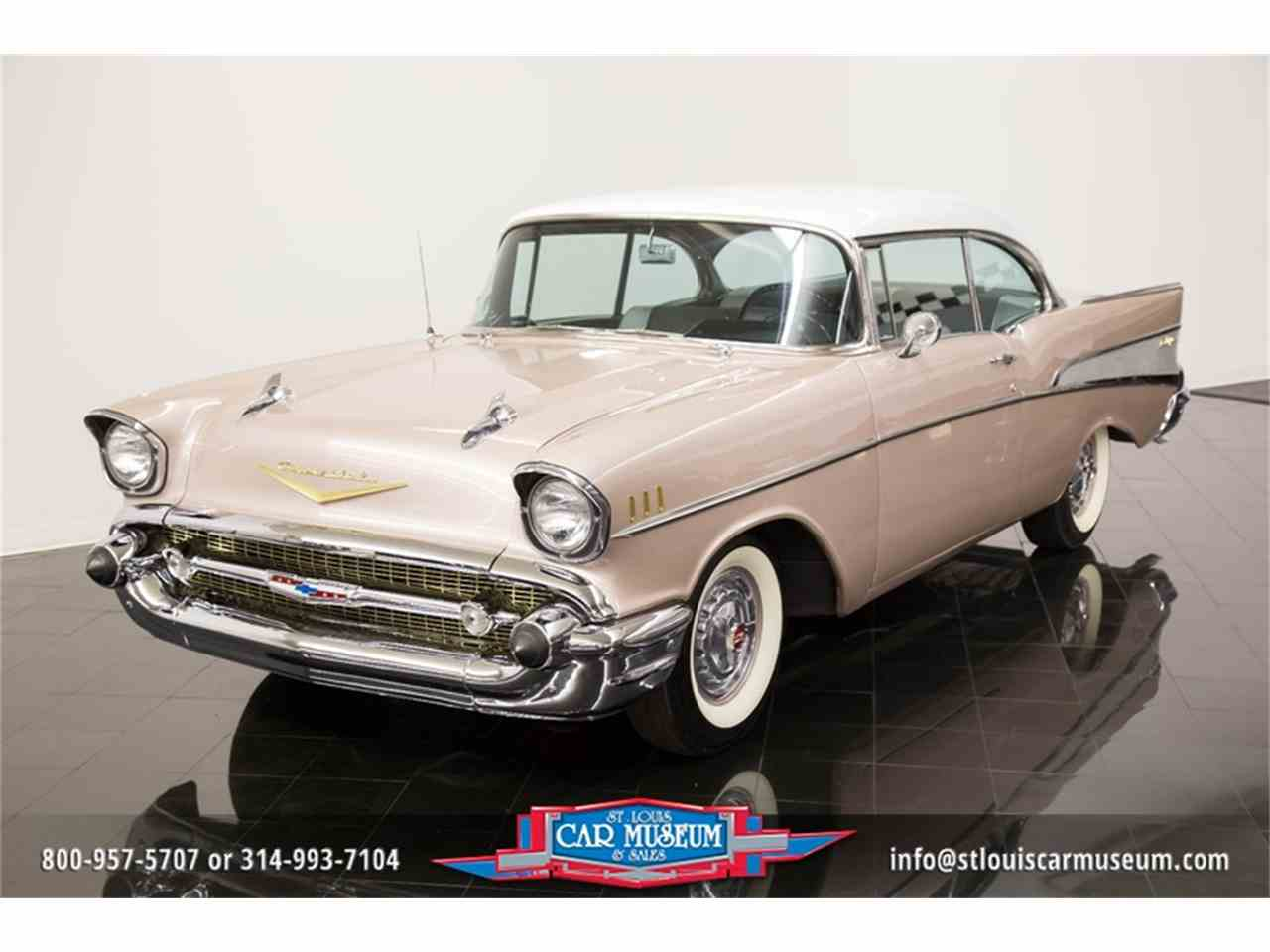 Large Picture of Classic '57 Chevrolet Bel Air Offered by St. Louis Car Museum - LUJG