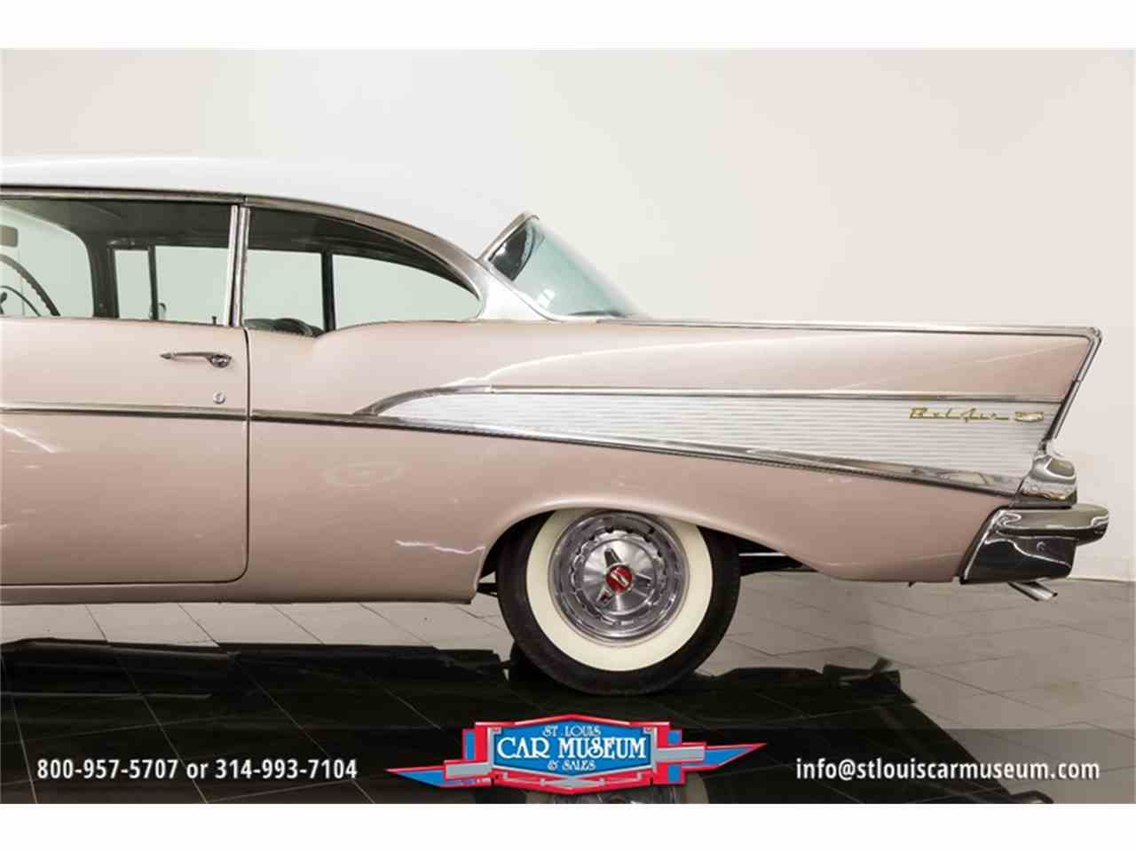 Large Picture of '57 Chevrolet Bel Air located in Missouri - $45,900.00 Offered by St. Louis Car Museum - LUJG