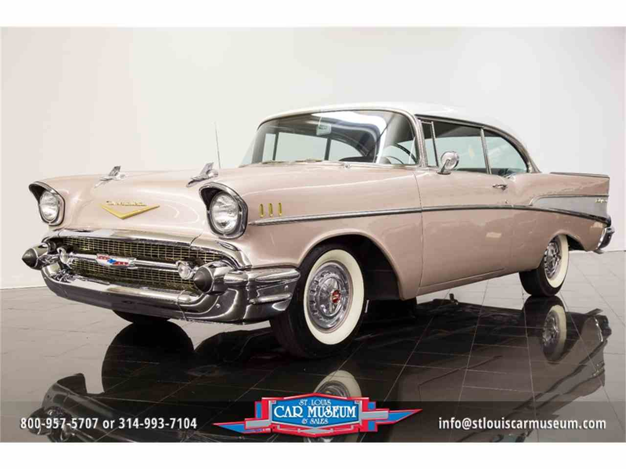 Large Picture of 1957 Chevrolet Bel Air located in Missouri - $45,900.00 Offered by St. Louis Car Museum - LUJG