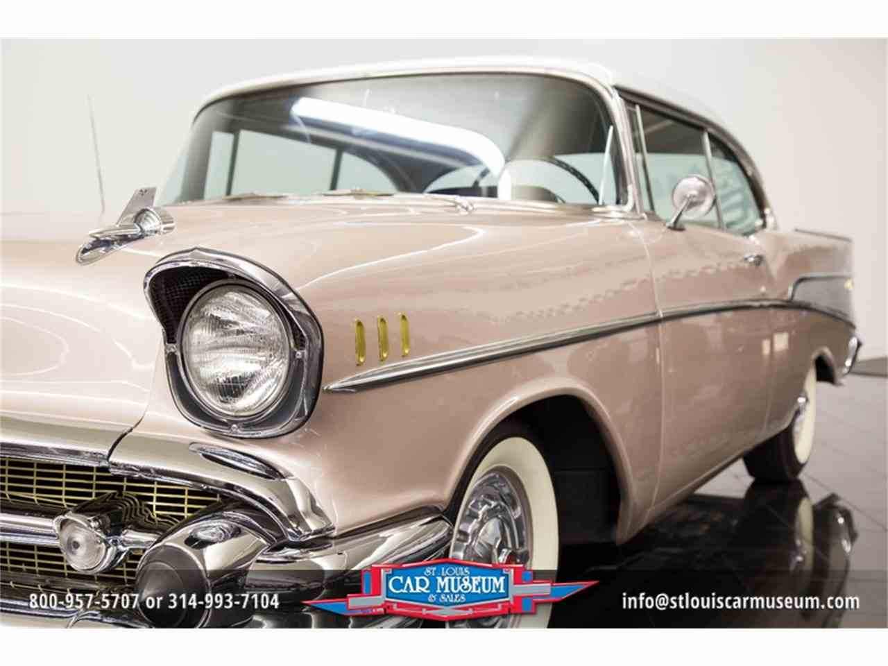 Large Picture of Classic '57 Chevrolet Bel Air located in Missouri Offered by St. Louis Car Museum - LUJG