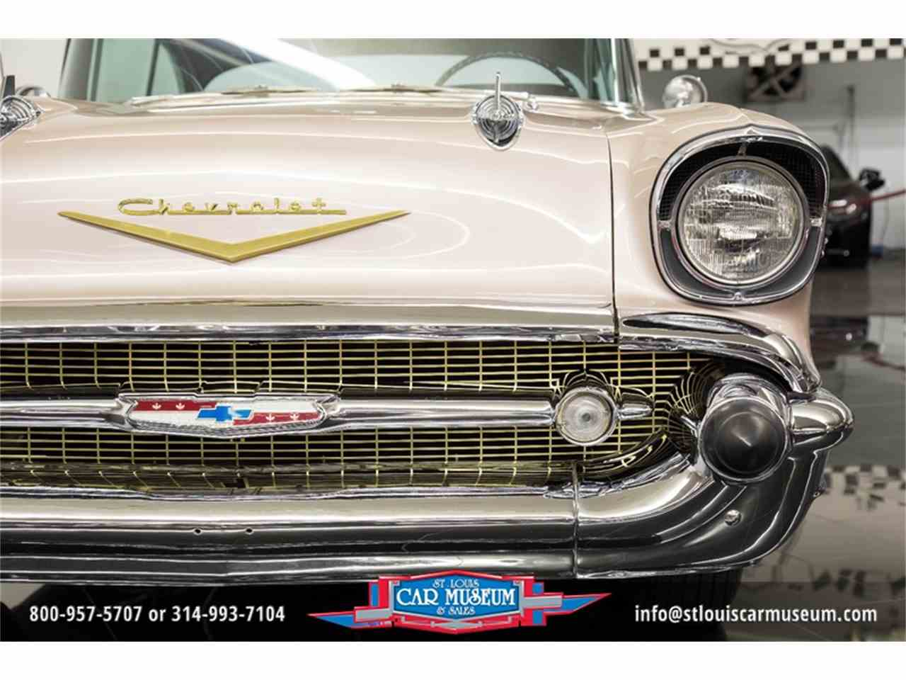 Large Picture of '57 Chevrolet Bel Air - $45,900.00 Offered by St. Louis Car Museum - LUJG