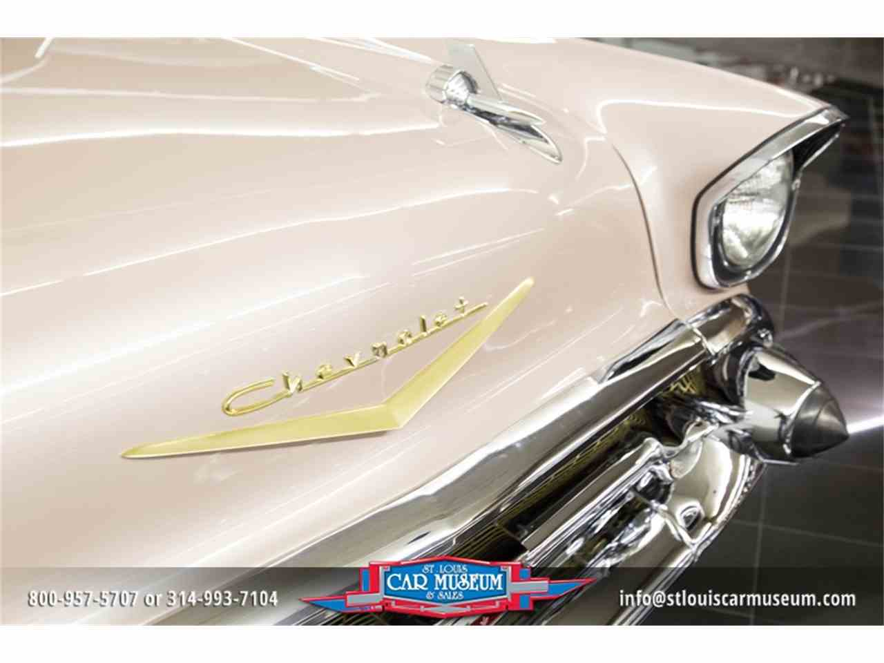 Large Picture of 1957 Bel Air located in St. Louis Missouri - $45,900.00 Offered by St. Louis Car Museum - LUJG