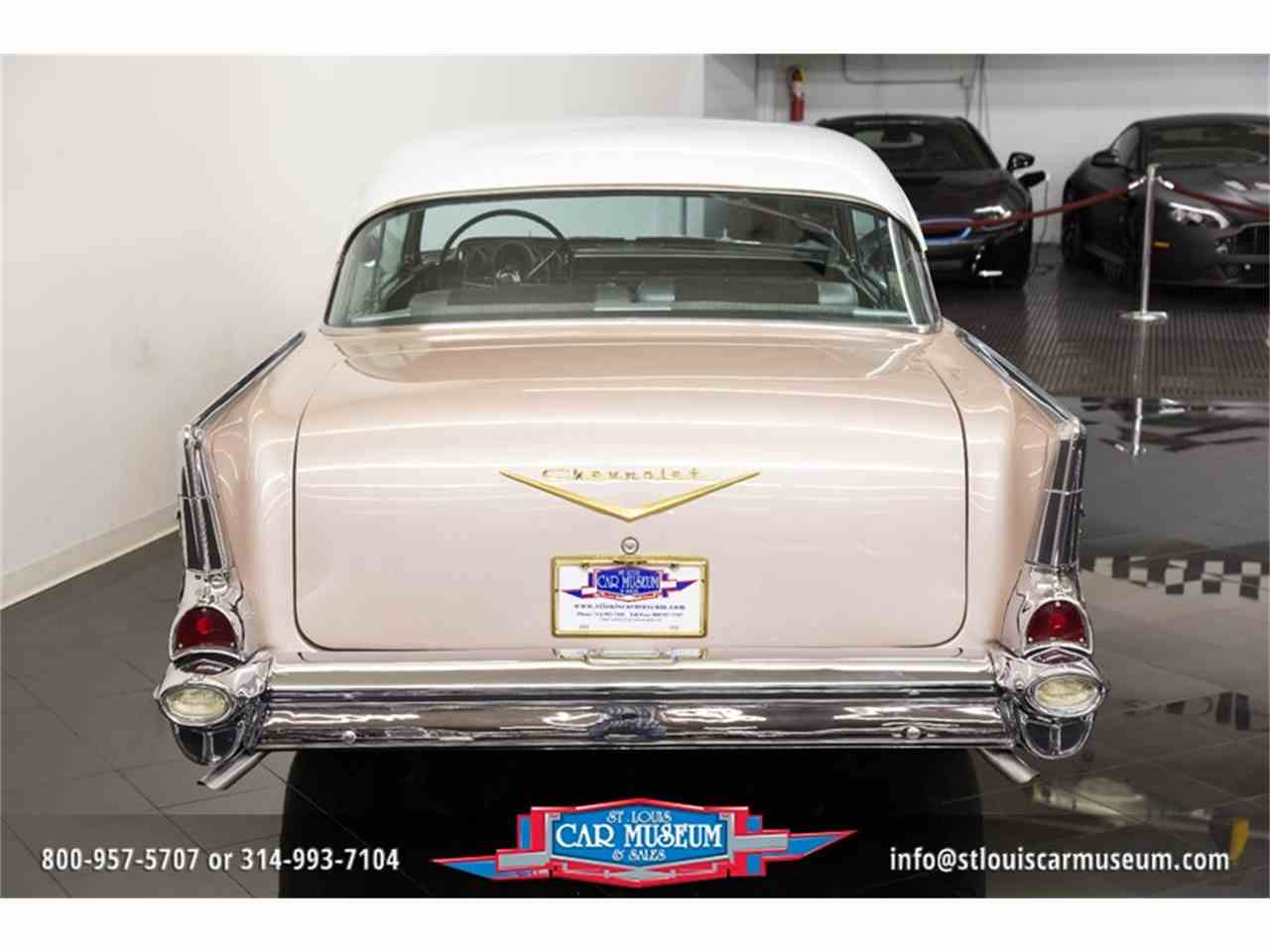 Large Picture of 1957 Bel Air located in St. Louis Missouri Offered by St. Louis Car Museum - LUJG