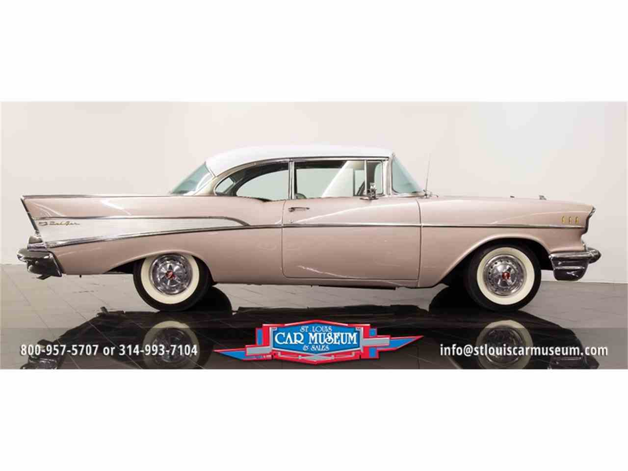 Large Picture of '57 Chevrolet Bel Air Offered by St. Louis Car Museum - LUJG