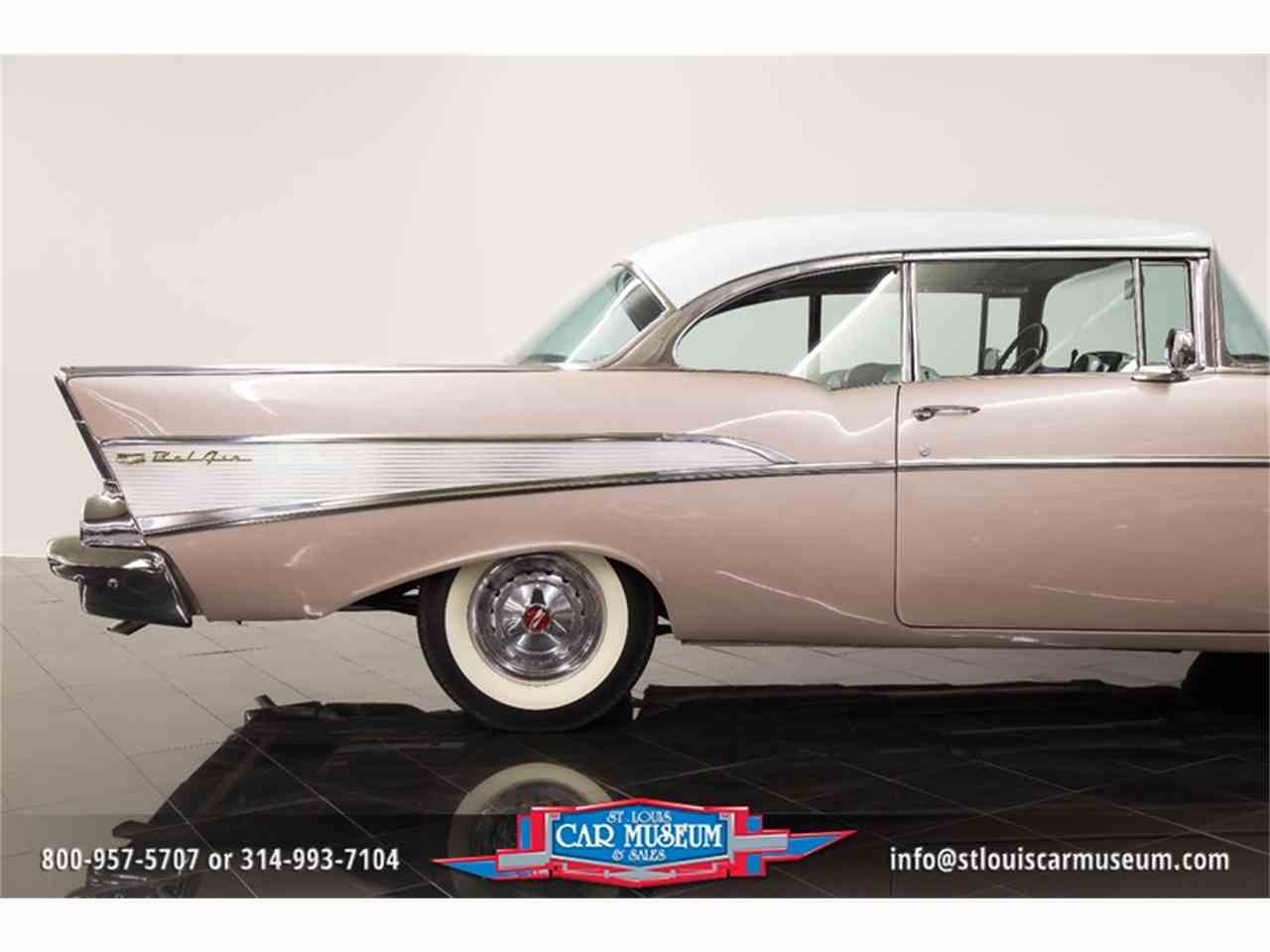 Large Picture of 1957 Bel Air Offered by St. Louis Car Museum - LUJG