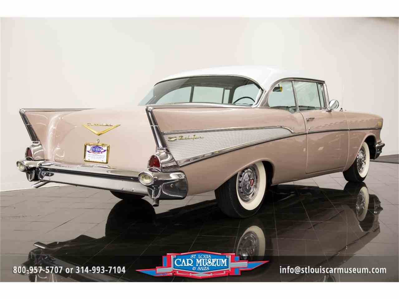 Large Picture of Classic '57 Bel Air located in St. Louis Missouri - $45,900.00 Offered by St. Louis Car Museum - LUJG
