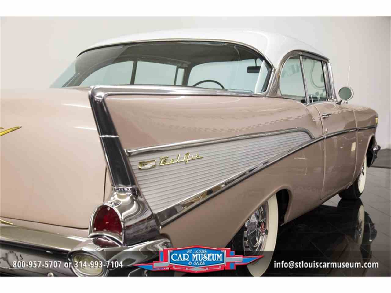 Large Picture of '57 Chevrolet Bel Air located in St. Louis Missouri - $45,900.00 - LUJG