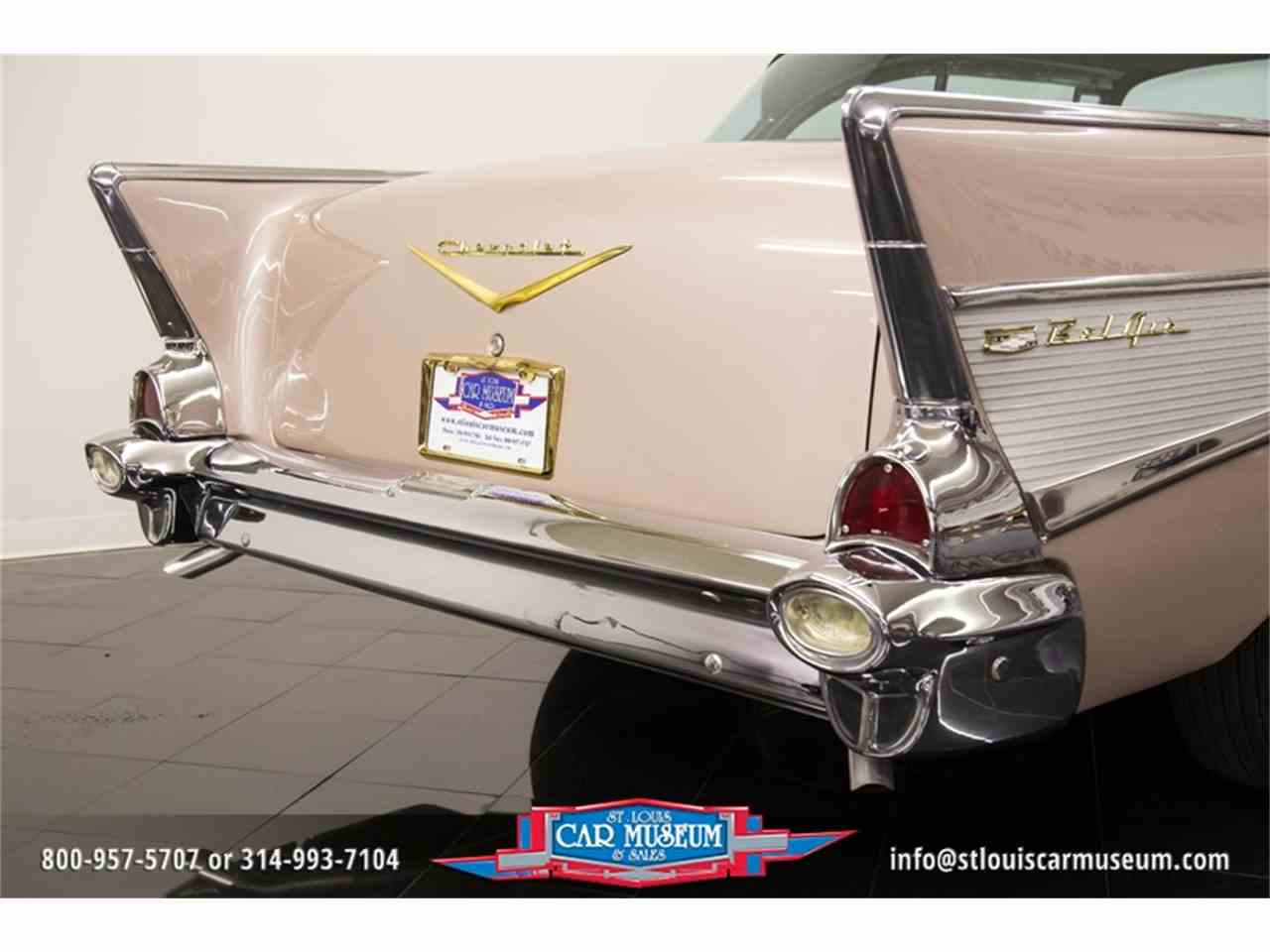 Large Picture of 1957 Chevrolet Bel Air Offered by St. Louis Car Museum - LUJG