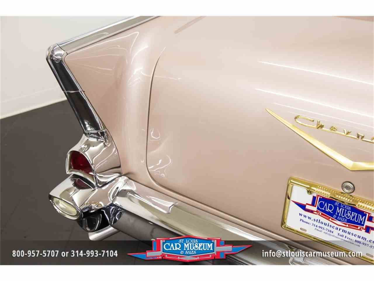 Large Picture of Classic 1957 Bel Air located in Missouri Offered by St. Louis Car Museum - LUJG