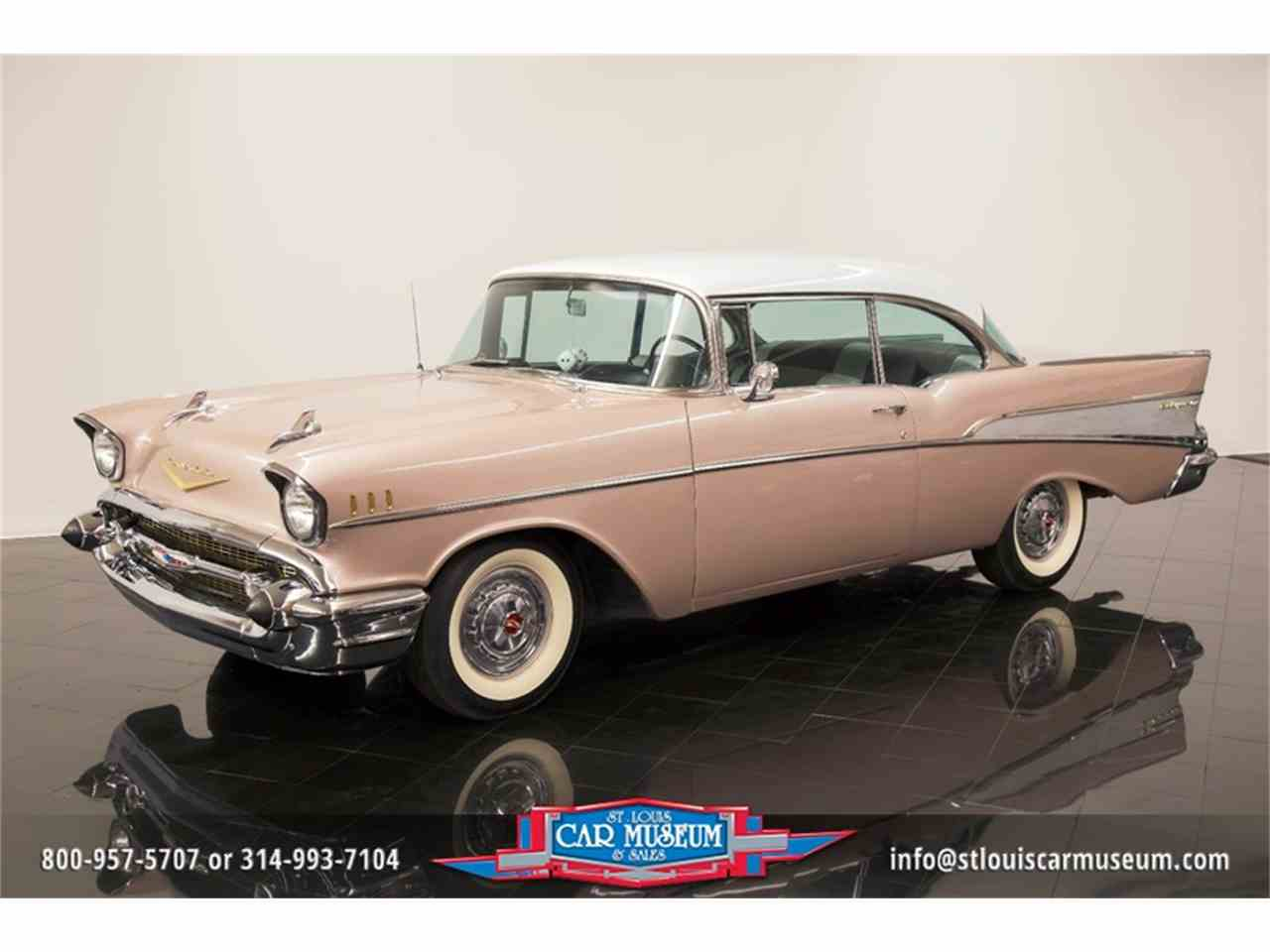 Large Picture of Classic 1957 Bel Air located in St. Louis Missouri Offered by St. Louis Car Museum - LUJG