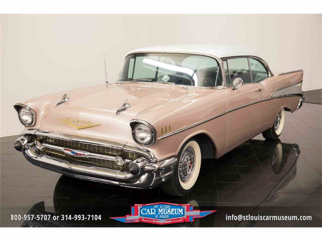 Large Picture of Classic '57 Bel Air located in Missouri Offered by St. Louis Car Museum - LUJG