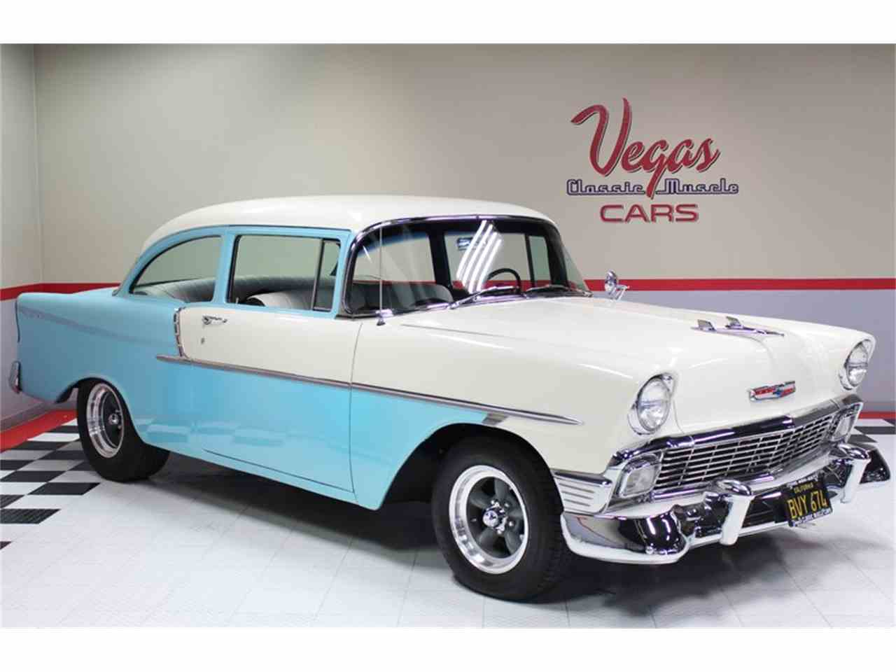 Large Picture of Classic 1956 Chevrolet Bel Air located in Henderson Nevada - $39,995.00 Offered by Vegas Classic Muscle Cars - LUM2
