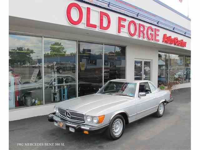 Picture of 1982 Mercedes-Benz 380SL located in Lansdale Pennsylvania - $20,900.00 Offered by Old Forge Motorcars - LUM8