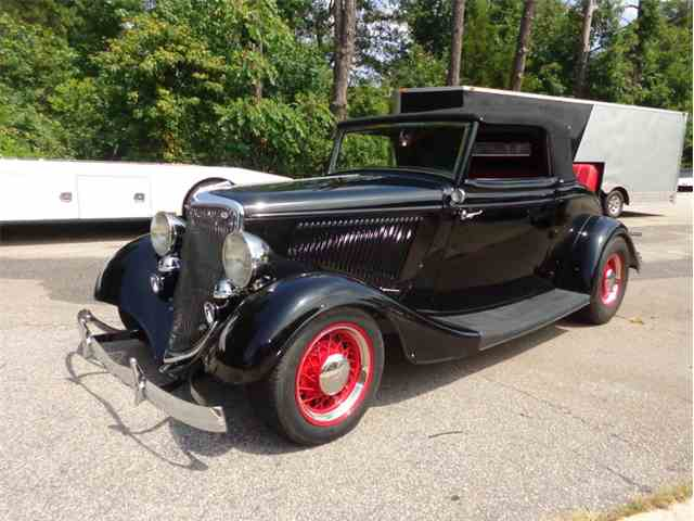 1934 Ford Cabriolet | 1019471
