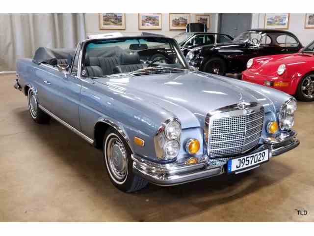 Classic Mercedes Benz 280se For Sale On