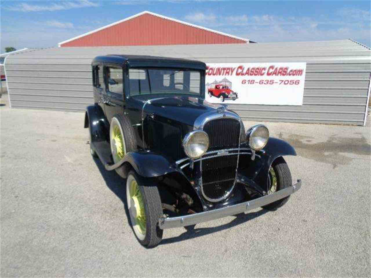 Large Picture of Classic 1931 Oldsmobile 4-Dr Sedan located in Staunton Illinois Offered by Country Classic Cars - LUPK
