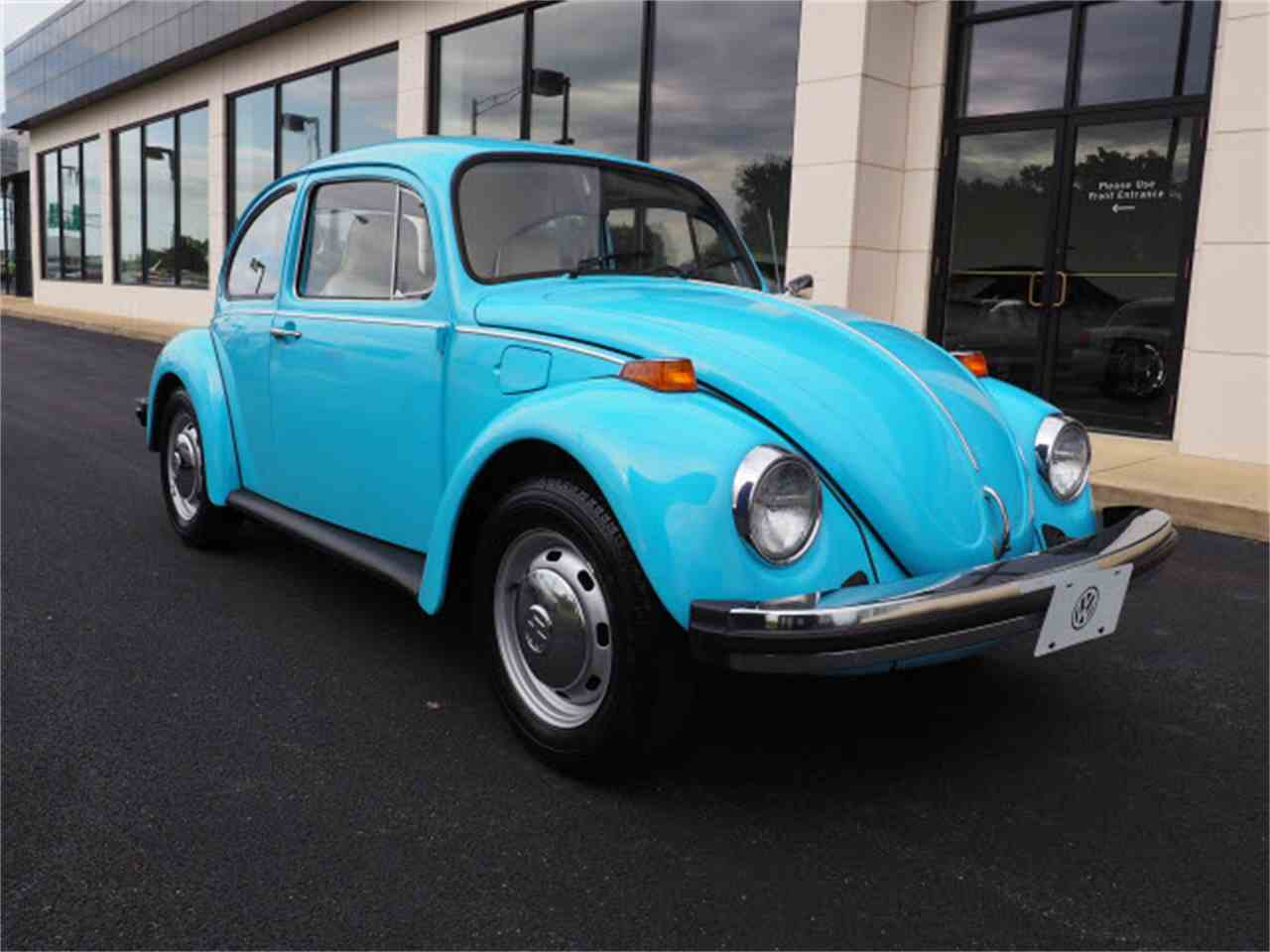 1975 volkswagen beetle for sale cc 1019617. Black Bedroom Furniture Sets. Home Design Ideas