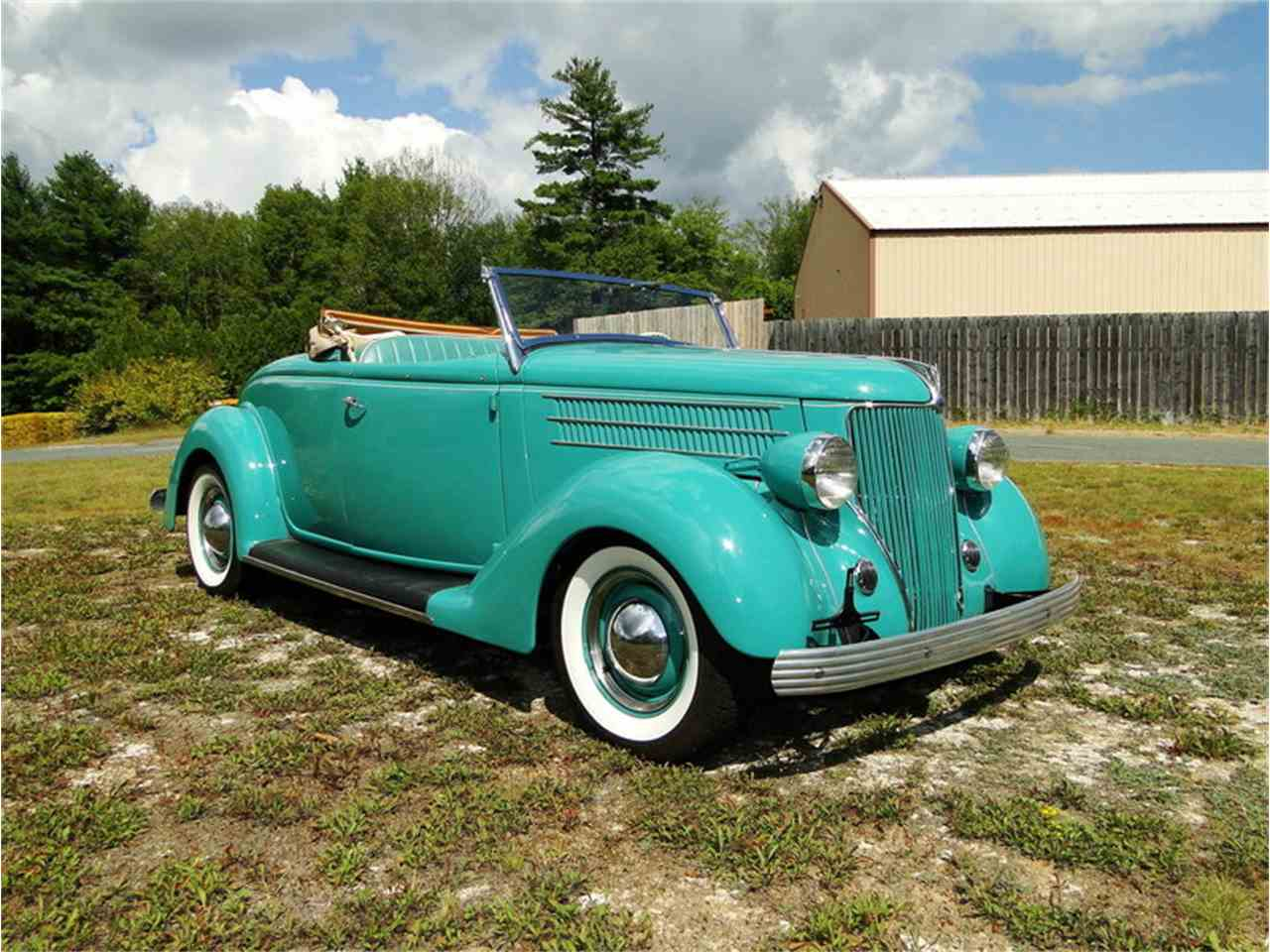 Large Picture of '36 Ford Roadster located in Beverly Massachusetts Offered by Legendary Motors LLC - LUUG