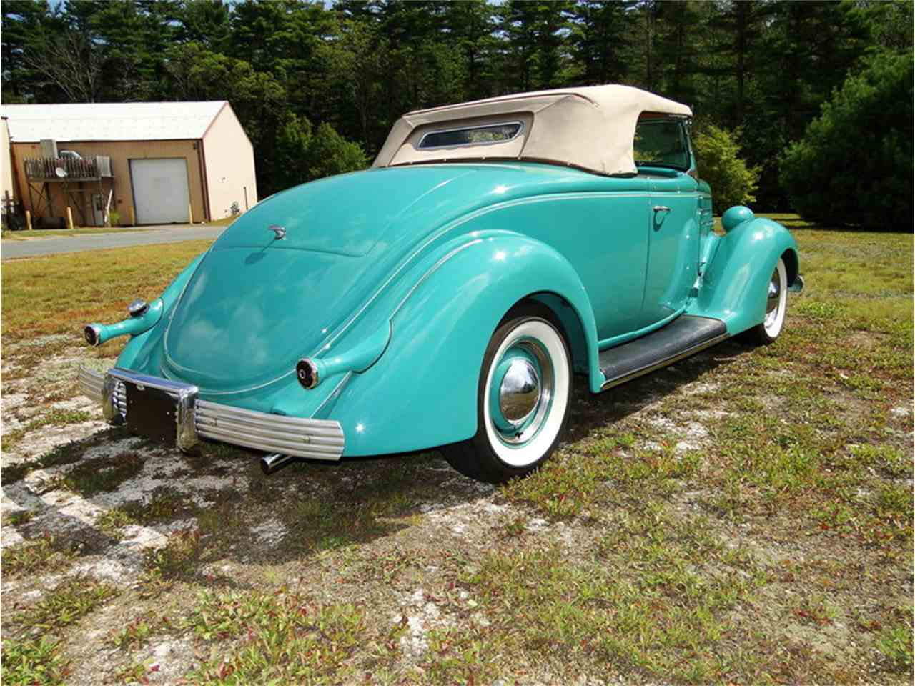 Large Picture of '36 Ford Roadster Offered by Legendary Motors LLC - LUUG