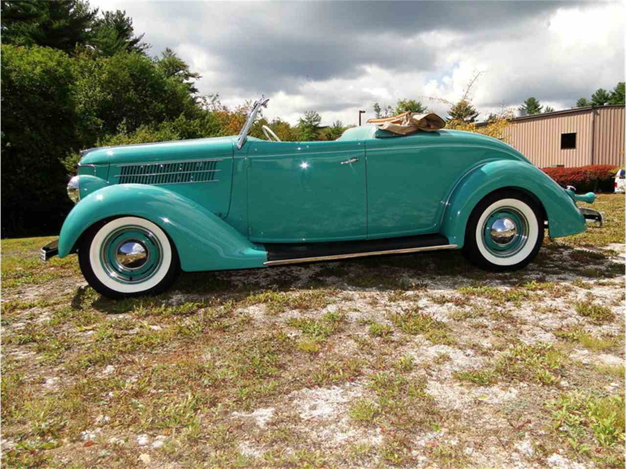 Large Picture of '36 Ford Roadster located in Beverly Massachusetts - LUUG