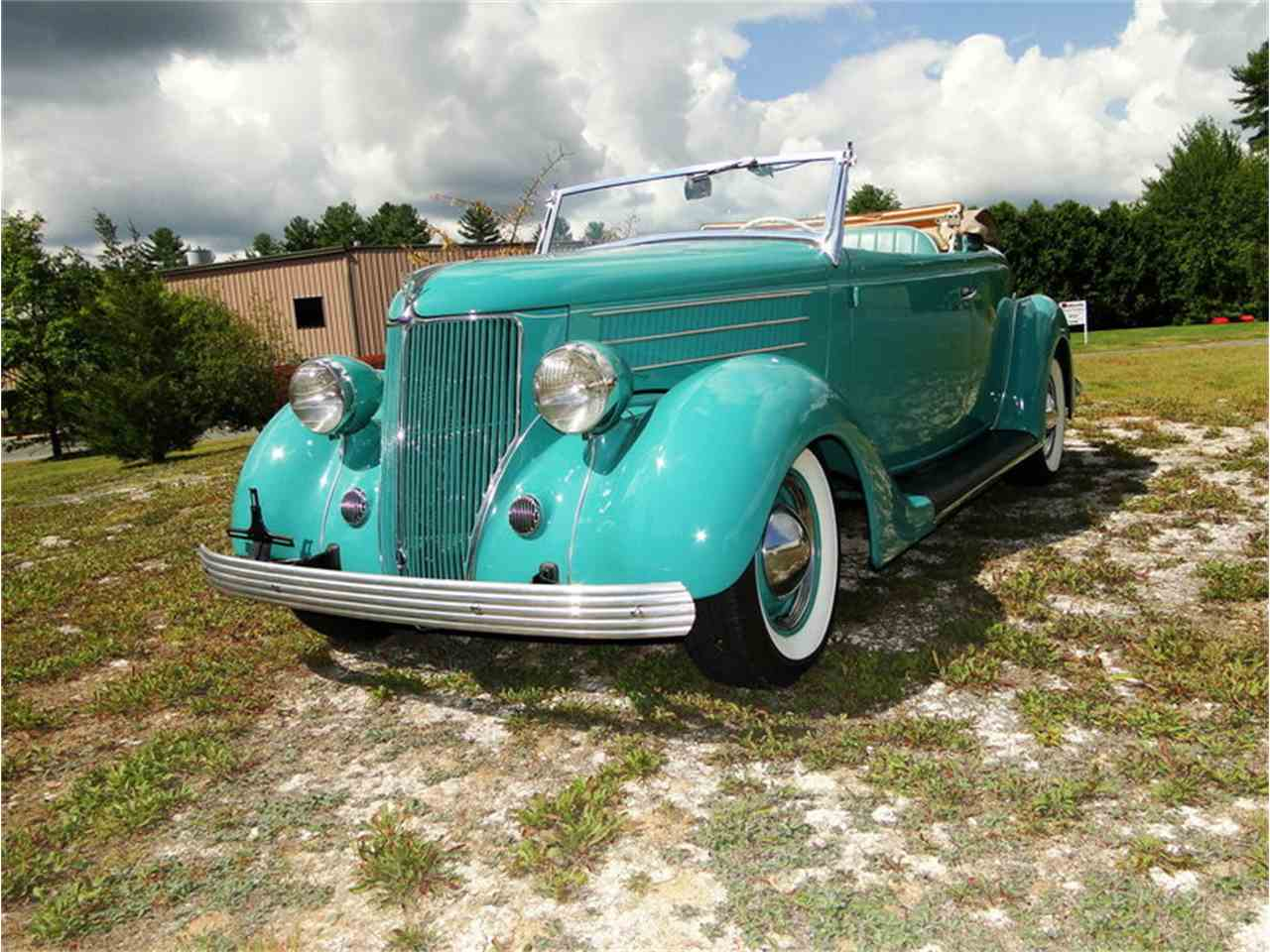 Large Picture of '36 Ford Roadster located in Massachusetts Offered by Legendary Motors LLC - LUUG