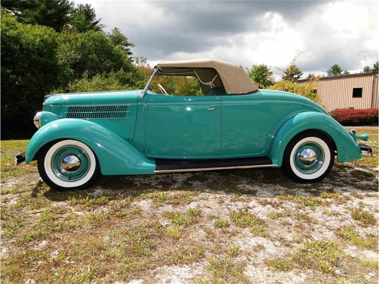 Large Picture of Classic 1936 Roadster located in Beverly Massachusetts - $43,000.00 Offered by Legendary Motors LLC - LUUG