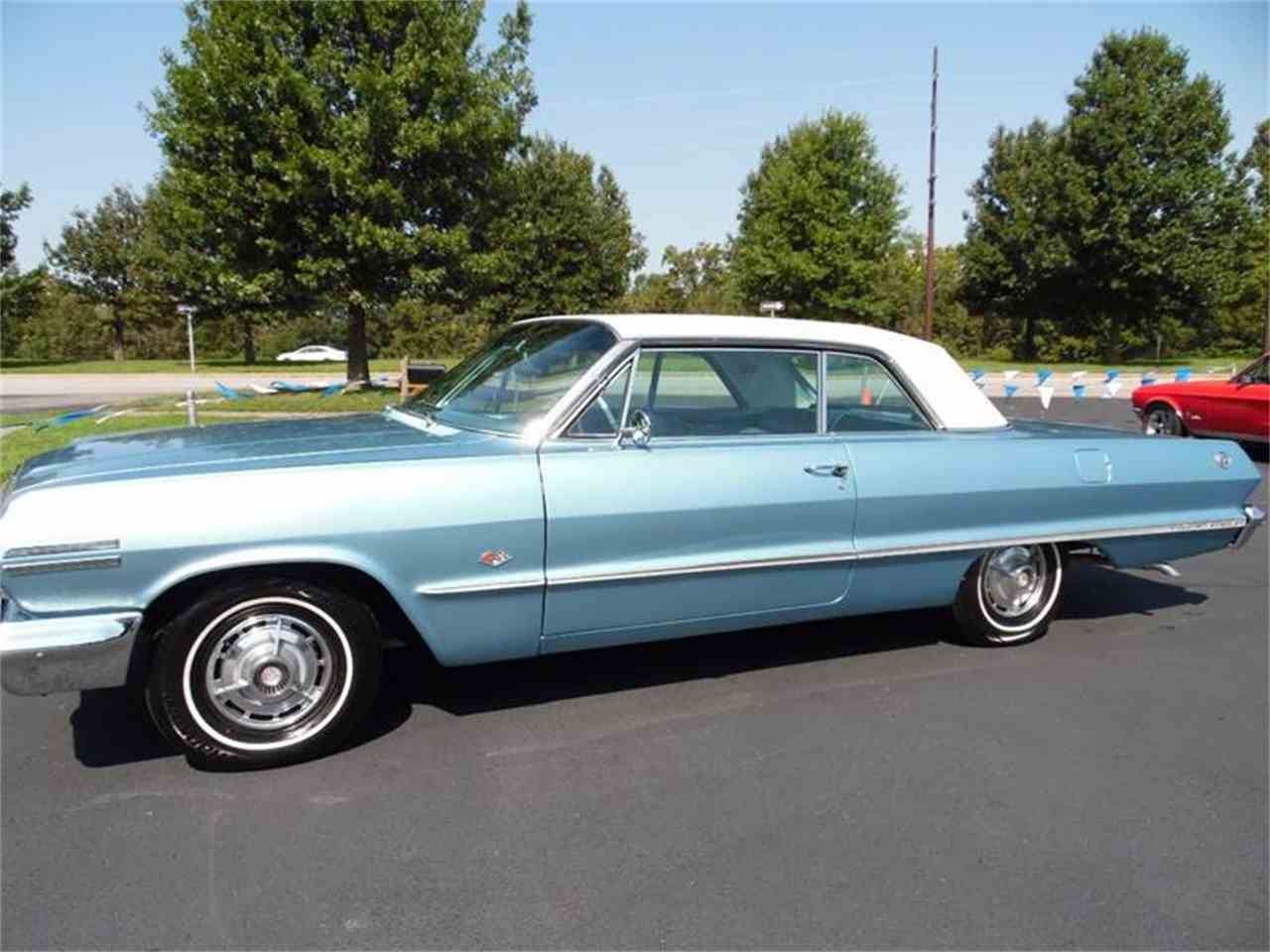 1963 chevrolet impala for sale cc 1019756. Black Bedroom Furniture Sets. Home Design Ideas