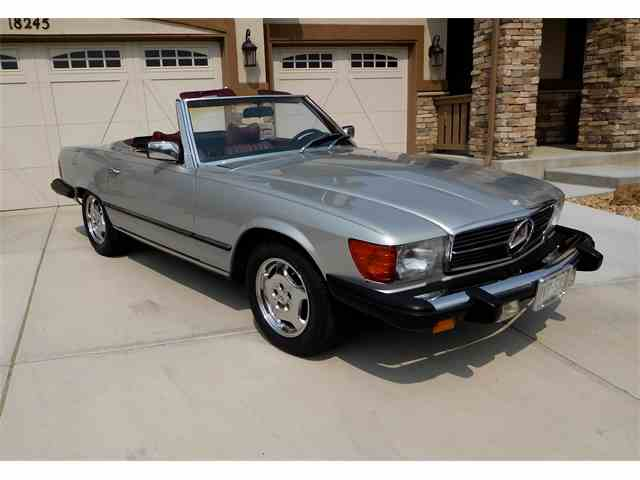 1979 Mercedes Benz 450sl For Sale On 22