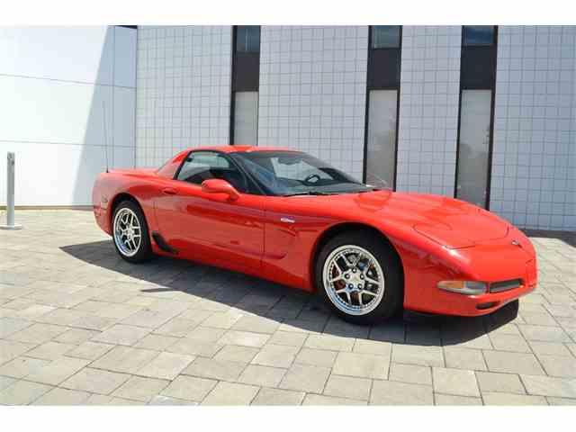 2002 Chevrolet Corvette Z06 | 1019825