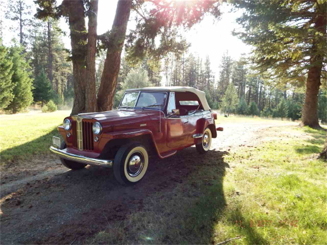 Large Picture of Classic 1949 Willys-Overland Jeepster Offered by a Private Seller - LUY1