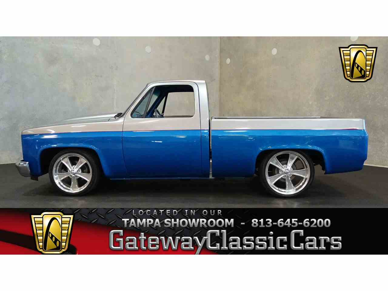 Large Picture of '84 C10 located in Ruskin Florida - $18,595.00 Offered by Gateway Classic Cars - Tampa - LUYV