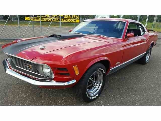 1970 Ford Mustang    Mach 1   1019927